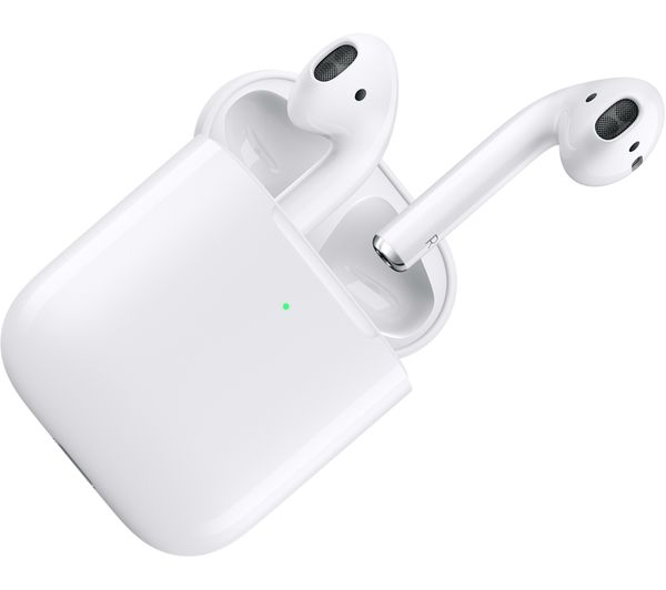 APPLE AirPods with Wireless Charging Case (2nd generation) - White ONLY 45 TICKETS