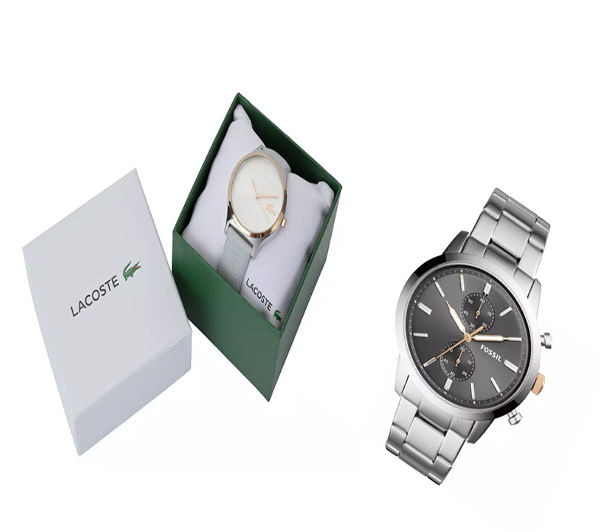 Lets help the broch sea cadets,WIN a Lacoste Nikita ladies watch and a mans Fossil watch