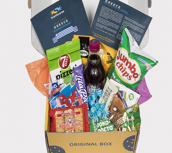 1 whole year subscription to  Snack Surprise Box