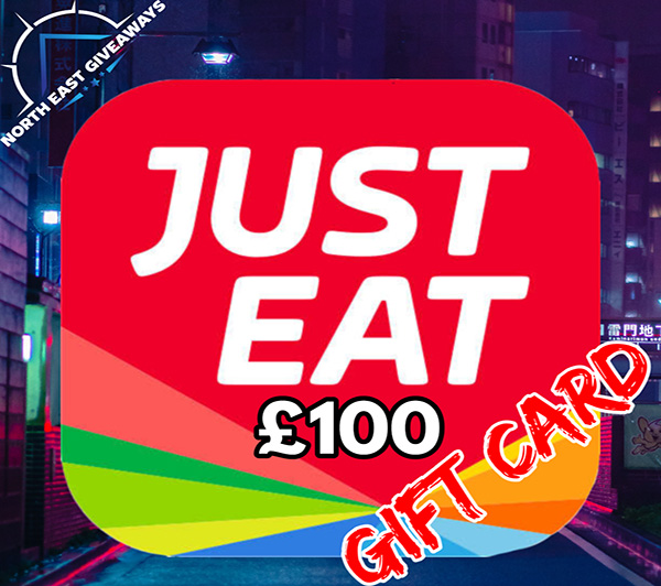 £100 JUST EAT GIFT CARD