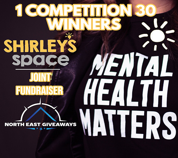 1 COMPETITION 30 WINNERS SHIRLEYS SPACE CHARITY