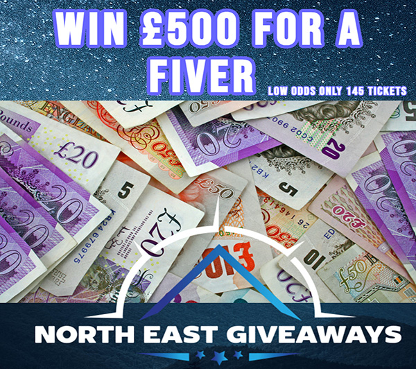 WIN £500 FOR A FIVER