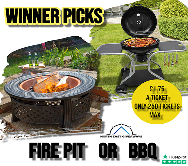 WINNER PICKS 3IN1 FIRE PIT OR A CHARCOAL BBQ