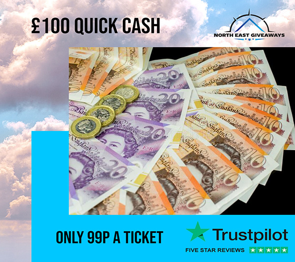 QUICK FIRE 1 DAY DRAW £100 CASH