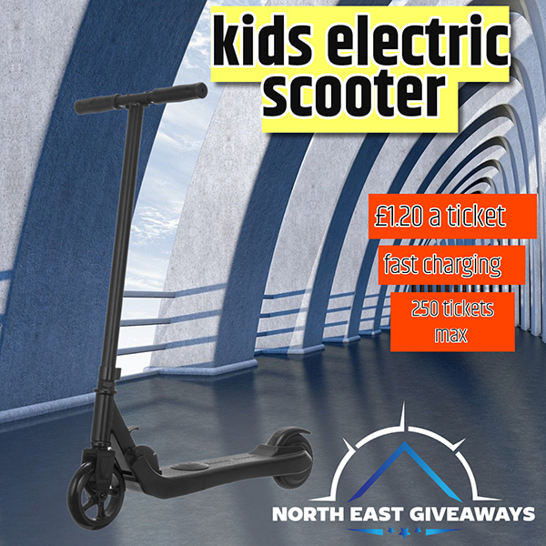 Electric Kids Scooter - Black