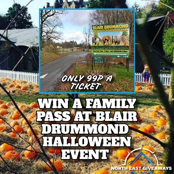 WIN A FAMILY PASS TO BLAIR DRUMMOND can use all year round