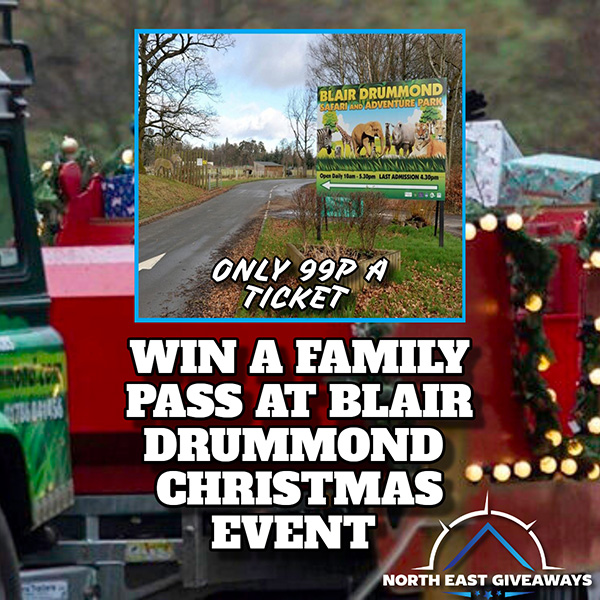 WIN A FAMILY PASS TO BLAIR DRUMMOND CHRISTMAS EVENT