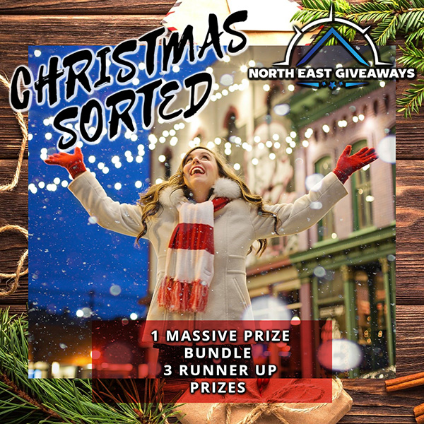 WIN A CHRISTMAS SORTED BUNDLE . PLUS 3 RUNNER UPS. AND MORE
