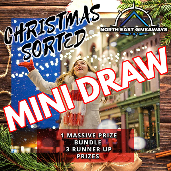 MINI DRAW #4  5 WINNERS WIN 25 TICKETS FOR THE CHRISTMAS PACKAGE