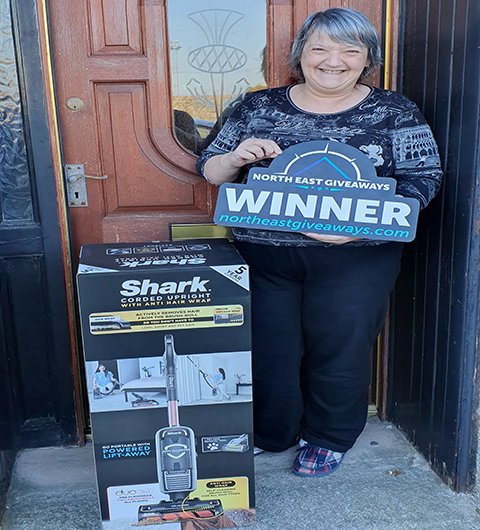 Shark hoover and cleaning bundle Winner